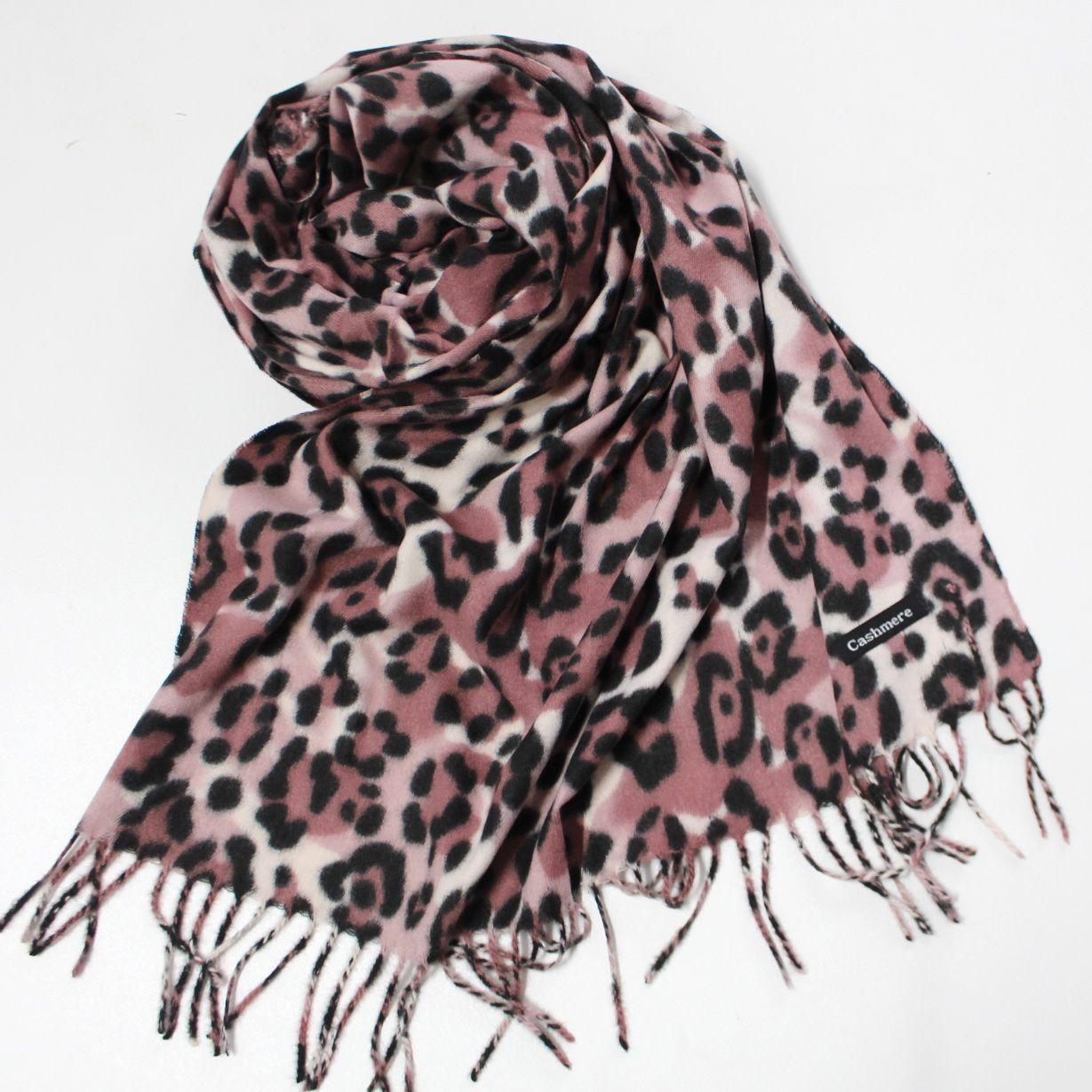Кашемировый теплый шарф палантин  Cashmere 142007