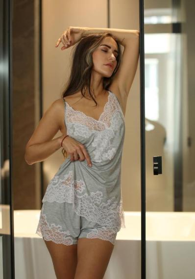 Пижама женская с шортами Suavite Deline