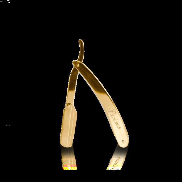 Опасная бритва со сменными лезвиями Pacinos Gold Swing Lock Razor