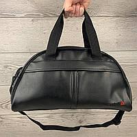 Мужская черная спортивная сумка Reebok