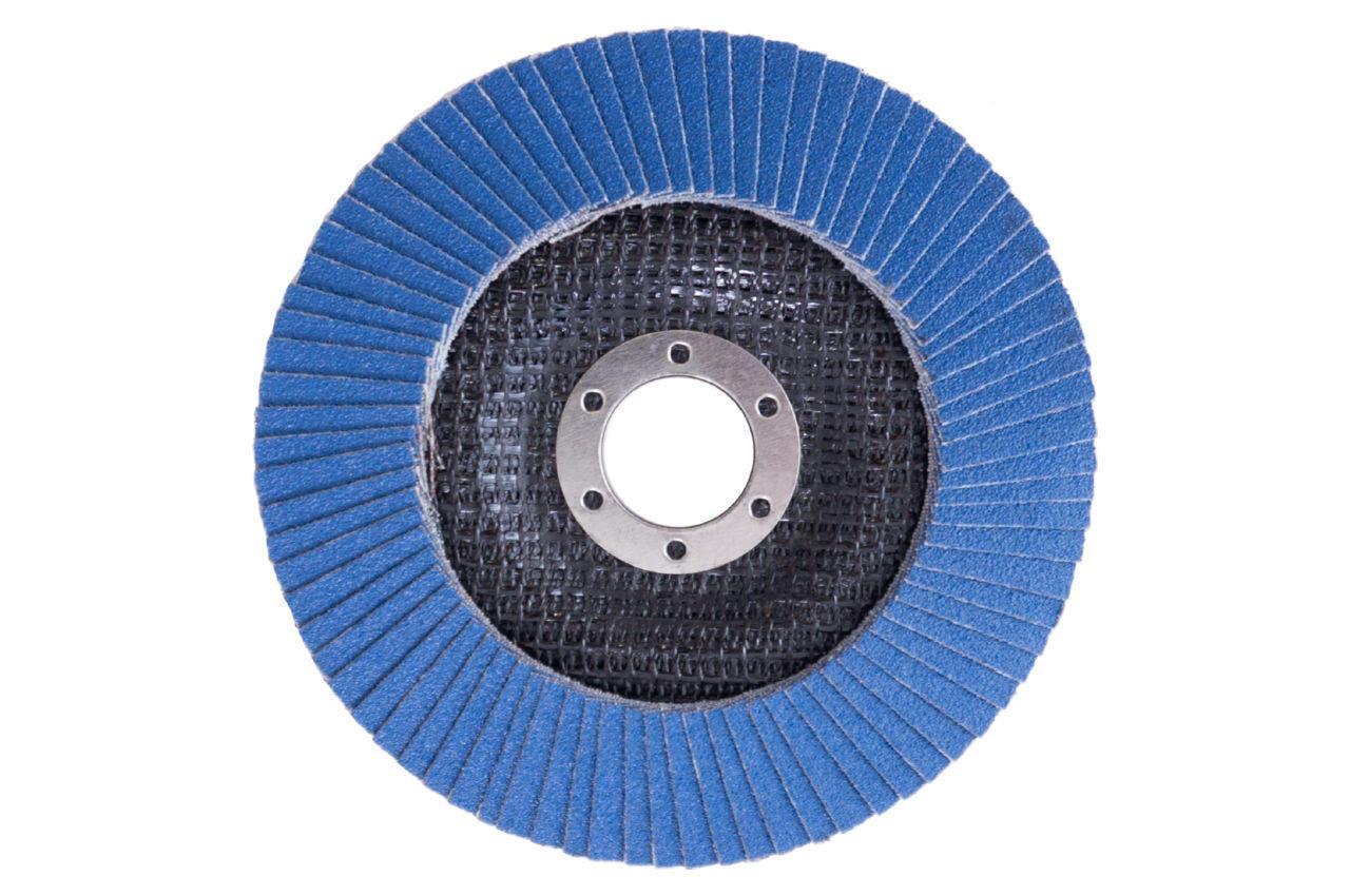 Круг лепестковый торцевой Apro - 125мм x Р80 цирконий прямой