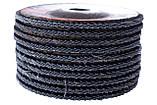 Круг лепестковый торцевой Apro - 125мм x Р80 цирконий прямой, фото 4