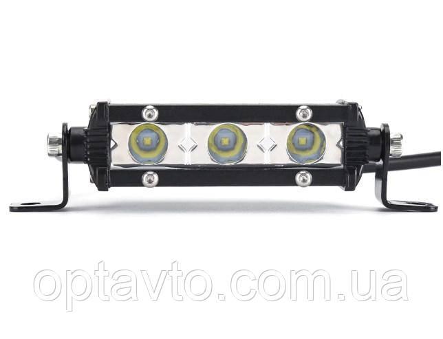LED фара, металлический корпус, боковой крепеж. Светодиодная лэд фара