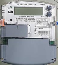 Счетчик актив реактив тарифный на 120А NIK 2303 ARP6Т.1200.M.11