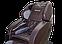 Массажное кресло ZENET ZET 1690 Коричневое, фото 4