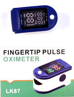 Пульсометр оксиметр на палец Pulse Oximeter LK-87