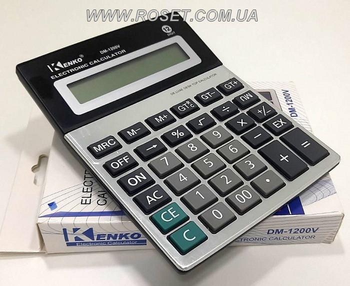 Профессиональный настольный калькулятор - Kenko DM-1200V