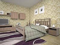 Кровать двуспальная Виано ТМ ТИС