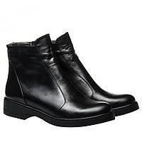 Ботинки La Rose 2332 40(26,5см) Черная кожа ЗИМНИЕ, фото 1