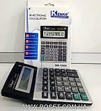 Профессиональный настольный калькулятор - Kenko DM-1200V, фото 4