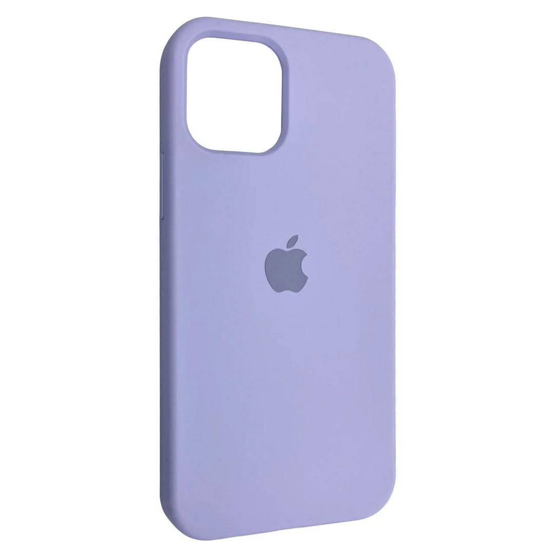 Силиконовый чехол Silicone case для Apple iPhone 12 / 12 Pro | Viola | DK