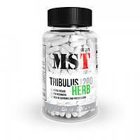 Уценка (Сроки годности до 05.09.20) MST Tribulus 1200 herb 90 caps, фото 1