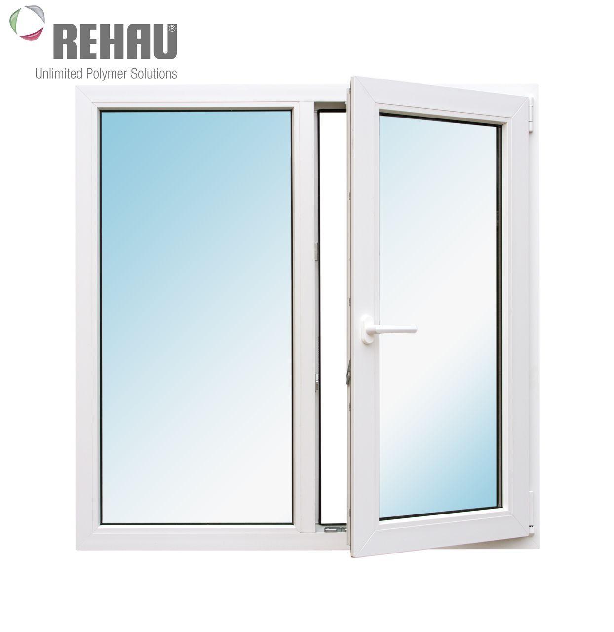 Окно металлопластиковое Rehau 1150 x 1350