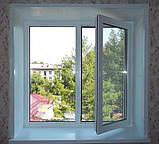 Окно металлопластиковое Rehau 1150 x 1350, фото 2