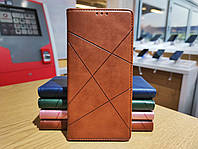 "Xiaomi Redmi 9A чехол книжка ""Avantis"" еко-кожа коричневый"