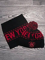 Комплект шапка + бафф Нью Йорк/New York yankees