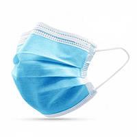 Медицинские трехслойные маски со слоем мельтблауна / ОПТ на выгодных условиях, фото 1