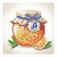 """Набор для вышивки бисером """"Апельсиновый джем"""""""