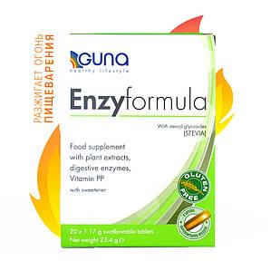 EnzyFormula (GUNA, Италия) 20 таб, 23 г Для расщепления и усвоения пищи