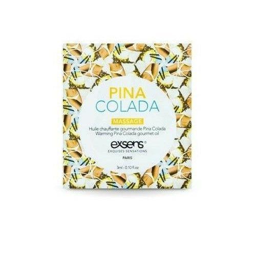 Пробник массажного масла EXSENS Pina Colada 3мл