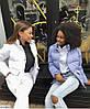 Жіноча модна коротка куртка пуховик з кишенями, фото 5