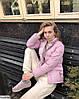 Жіноча модна коротка куртка пуховик з кишенями, фото 2