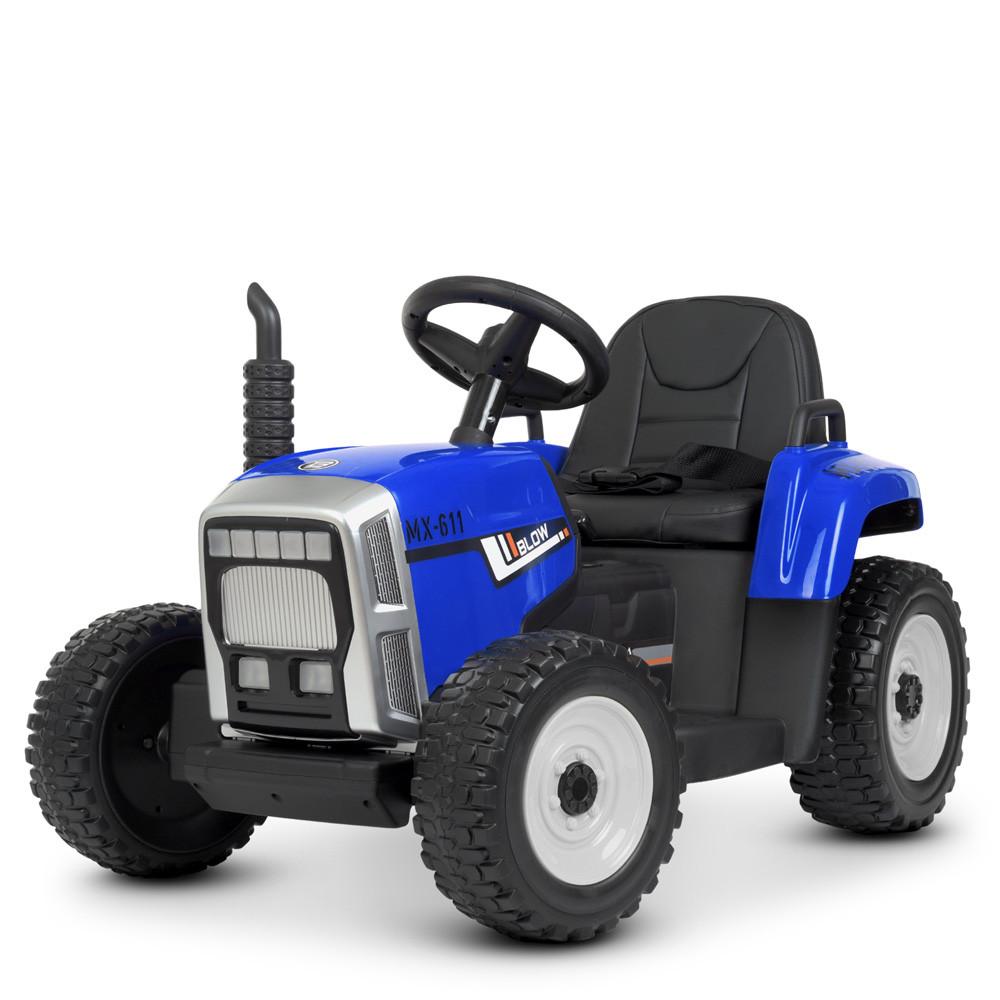 Детский электромобиль трактор M 4478EBLR-4
