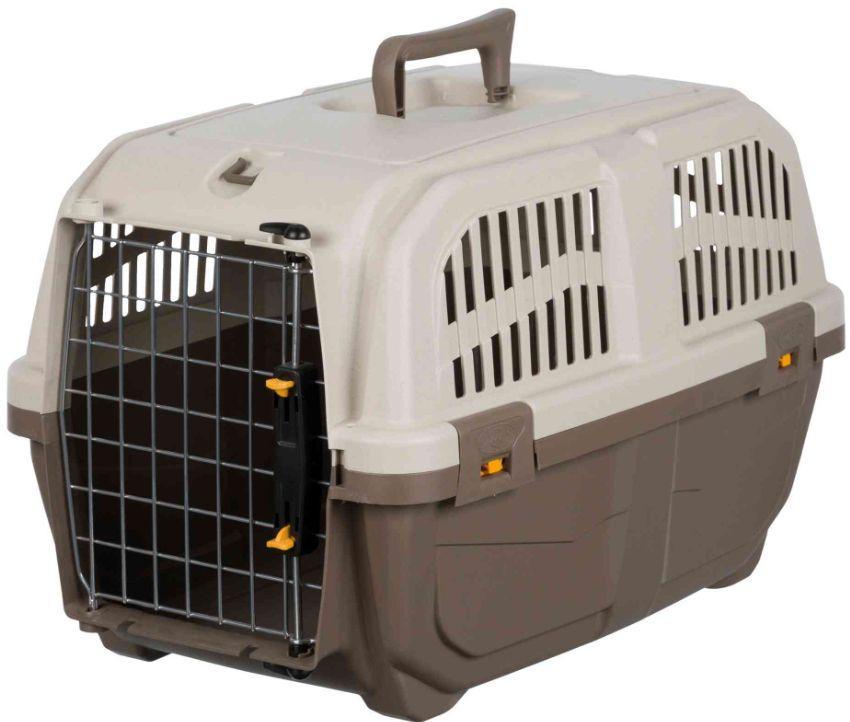 Переноска пластикова СКУДО 2 SKUDO 2 IATA для кішок і собак вагою до 18 кг, 55 * 36 * 35 см