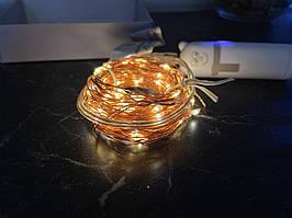 LED гирлянда микро-лед powerbank Светодиодная гирлянда. Производство Франция.