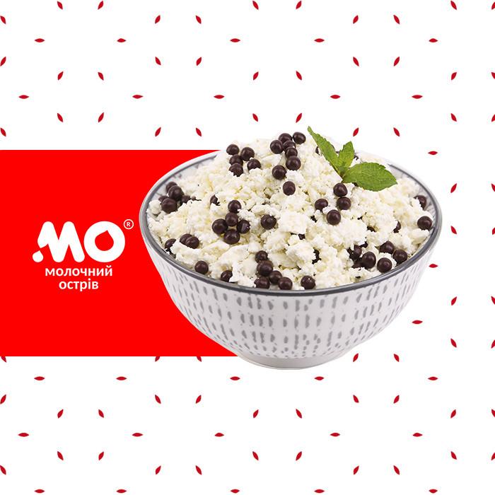 Творожная масса с шоколадными дропсами | Малороганский молочный завод