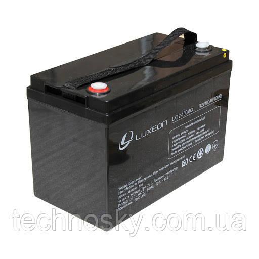 Аккумулятор мультигелевый AGM Luxeon LX 12-100MG