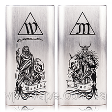 "Hammer of God XL ""Four Horsemen Edition"" 21700 Mech MOD by Vaperz Cloud x Deathwish Modz, фото 2"