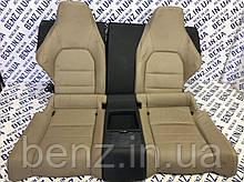 Сиденье заднее кожа Mercedes C207