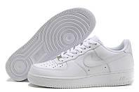 Кроссовки мужские Nike Air Force Low (в стиле найк форс) белые