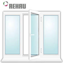 Окно металлопластиковое Rehau 2000 x 1350