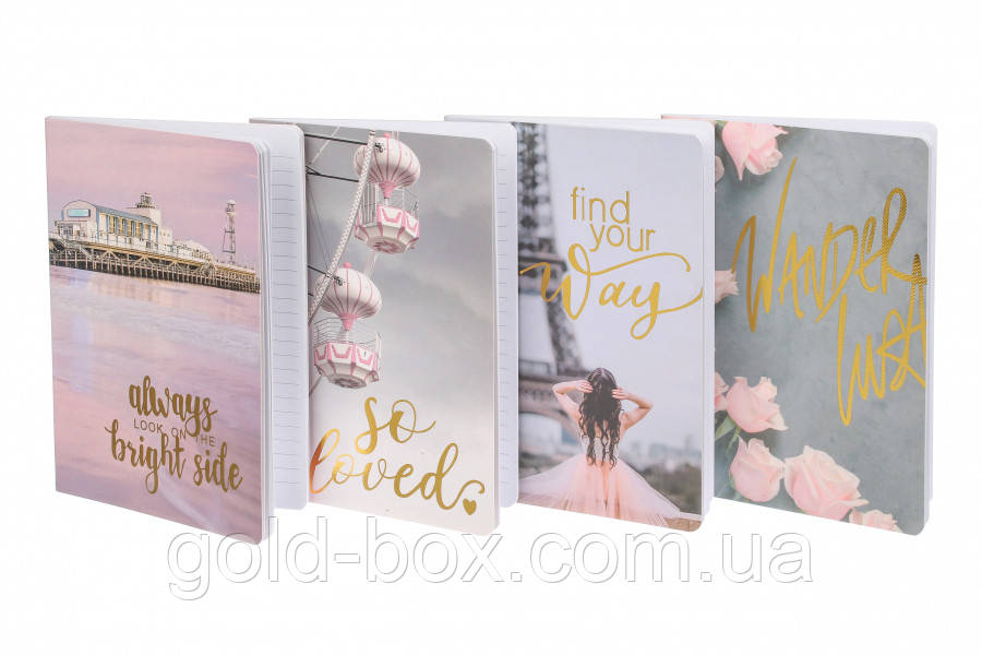 Скетчбук, Блокнот, Органайзер, Ежедневник «Pig pink»