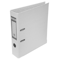 Папка-регистратор односторонняя LUX, JOBMAX, А4, ширина торца 70 мм, белая