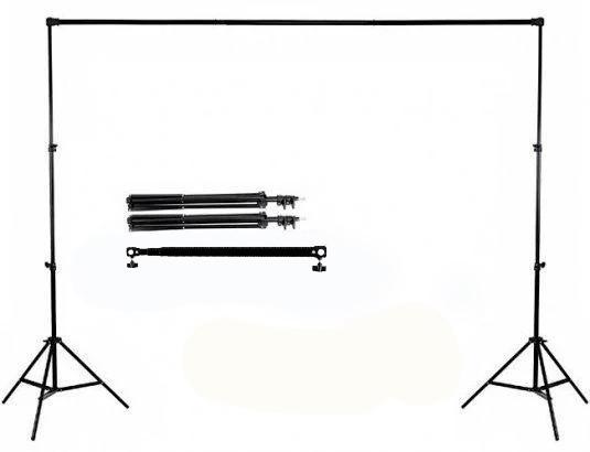 """2,6*3м Держатель-Крепление фото фона """"Ворота"""" - Перекладина + стойки DNP-260G ( для фотостудии)"""