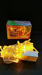 Світлодіодна гірлянда жовта на 100 Led
