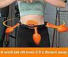 Умный массажный обруч Hula Hoop который не падает / антицеллюлитный массаж с цмным обручем Хула Хуп ВИДЕООБЗОР, фото 2