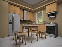 Кухонный стол с табуретками Визит ТМ ТИС