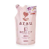 Мыло-пена для тела Arau наполнитель 450 мл