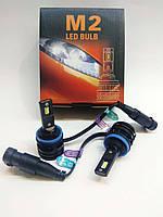 Светодионые LED автолампы M2, H11, CREE, 28Вт, 9-32В, 6000Lm, 6500K, фото 1