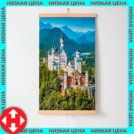 Трио картина обогреватель электрический (Замок) электрообогреватель настенный по Украине Трио 00105, фото 2