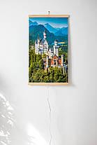 Трио картина обогреватель электрический (Замок) электрообогреватель настенный по Украине Трио 00105, фото 3