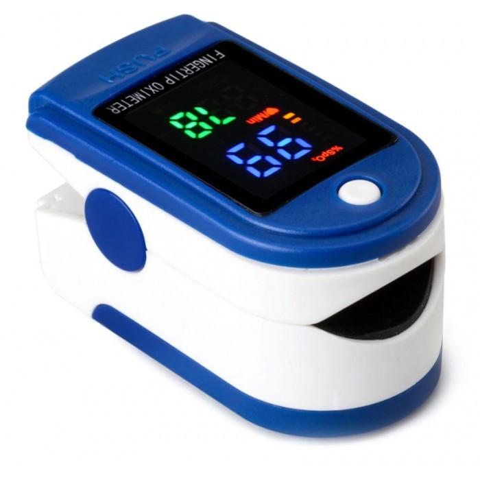 Пульсометр оксиметр на палец (пульсоксиметр) LYG-88 LED