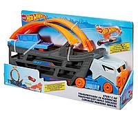 Грузовик Hot Wheels Автовоз с петлей Хот Вилс Stunt & Go Track