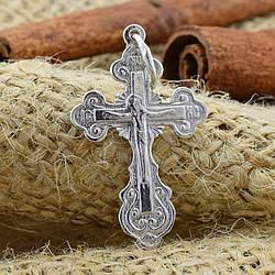 Серебряный крестик Православный размер 34х18 мм вес 1.65 г