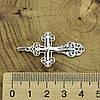 Серебряный крестик Православный размер 41х22 мм вес 2.36 г, фото 3