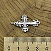 Серебряный крестик Крест ажурный размер 33х20 мм вес 1.8 г, фото 3